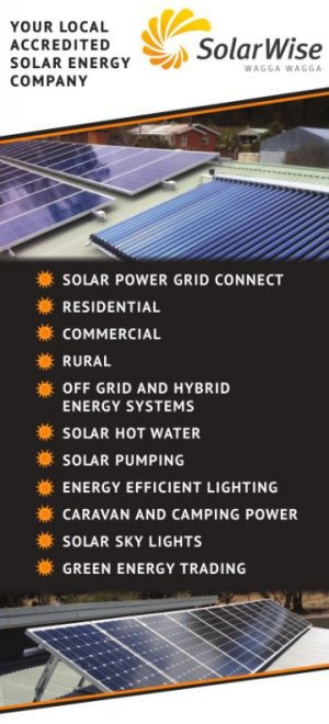 SolarWise Wagga - Energy specialists